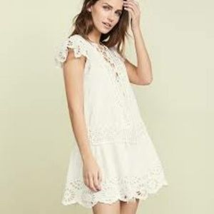 FREE PEOPLE ◾ Lace Mini Dress